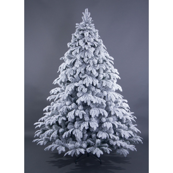 Искусственная ель премиум заснеженная «Альпийская» - 180 см