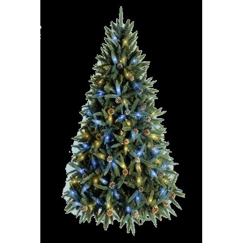 Искусственная светодиодная ёлка «Классико» - 210 см