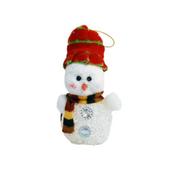 Снеговик с красной шапкой, 1 шт.