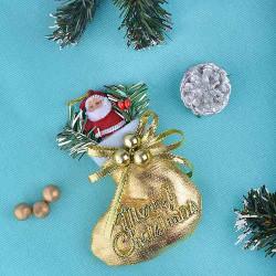 Новогоднее украшение с дедом морозом, 1 шт.