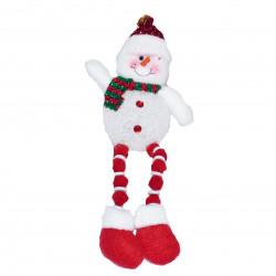 Снеговик с висящими ножками, 1 шт.