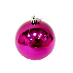 Елочный фиолетовый шар, диаметр 7,5 см, 1 шт.