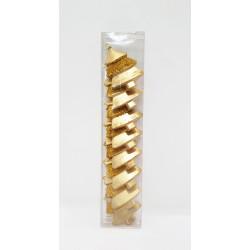 Ёлочное украшение, золотая ель - поштучно